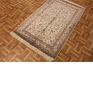Link to 3' 3 x 5' 3 Kashan Persian Rug