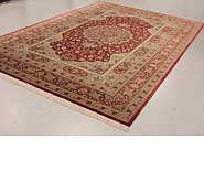 Link to 8' 1 x 12' Qom Persian Rug