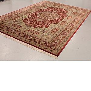 8' 1 x 12' Qom Persian Rug