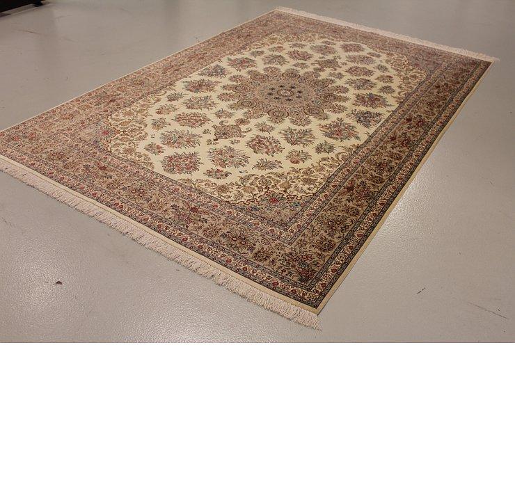 198cm x 300cm Qom Persian Rug