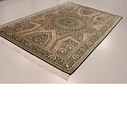 Link to 6' 7 x 10' 2 Qom Persian Rug