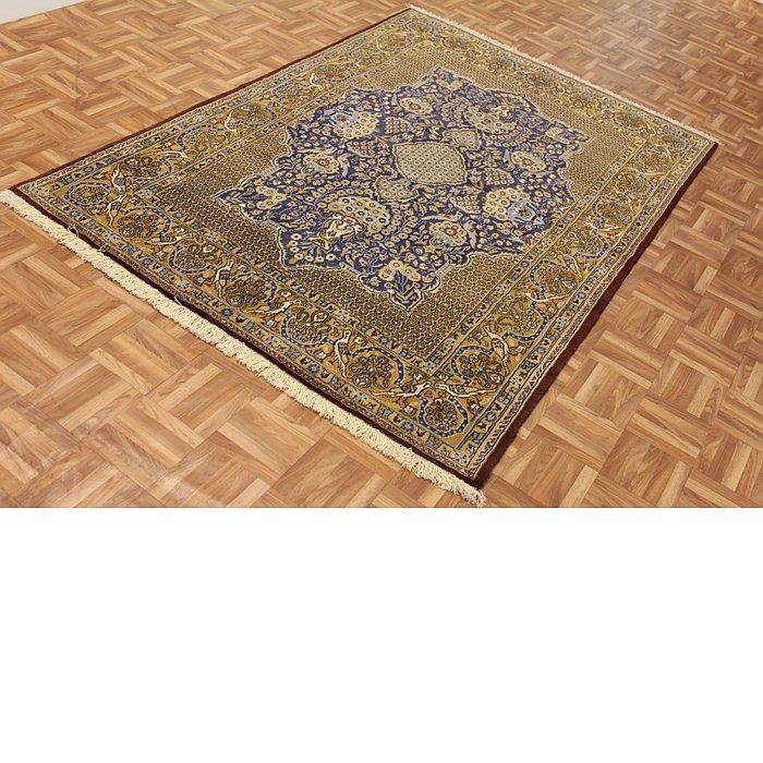 4' 7 x 6' 10 Qom Persian Rug