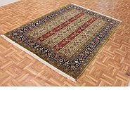 Link to 4' 9 x 6' 11 Qom Persian Rug