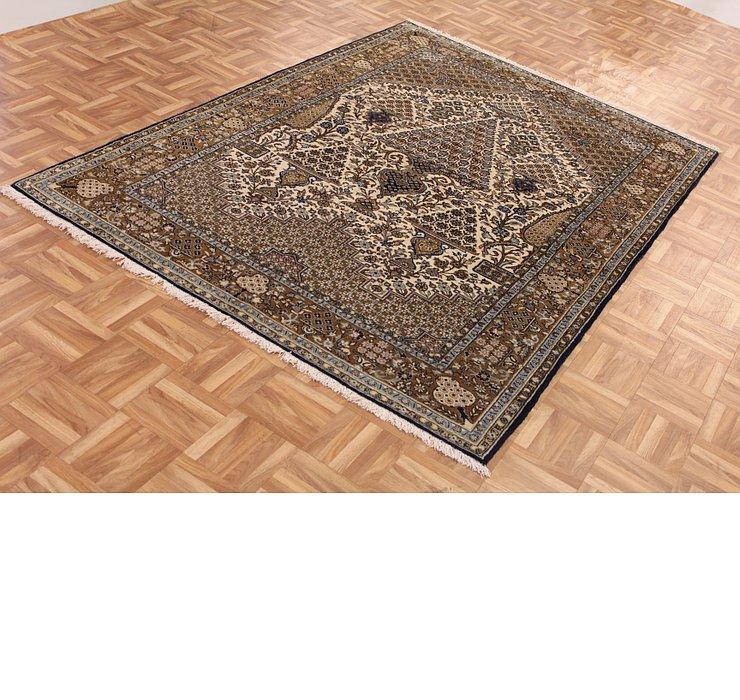 142cm x 210cm Qom Persian Rug