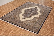 Link to 4' 7 x 7' 3 Qom Persian Rug