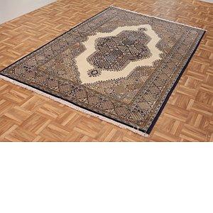 4' 7 x 7' 3 Qom Persian Rug