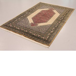 4' 8 x 7' 3 Qom Persian Rug