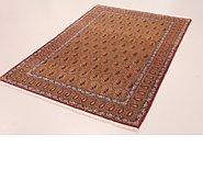 Link to 4' 6 x 6' 9 Qom Persian Rug