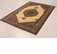 Link to 4' 8 x 6' 9 Qom Persian Rug