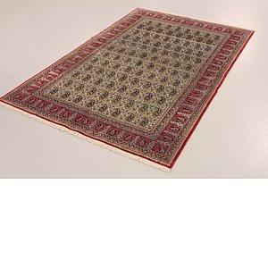4' 6 x 7' Qom Persian Rug