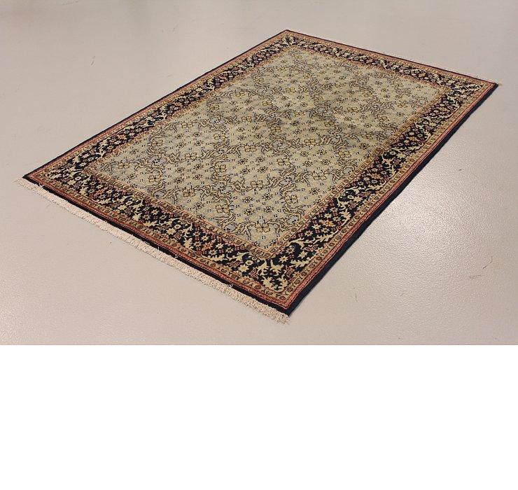 4' 8 x 6' 8 Qom Persian Rug