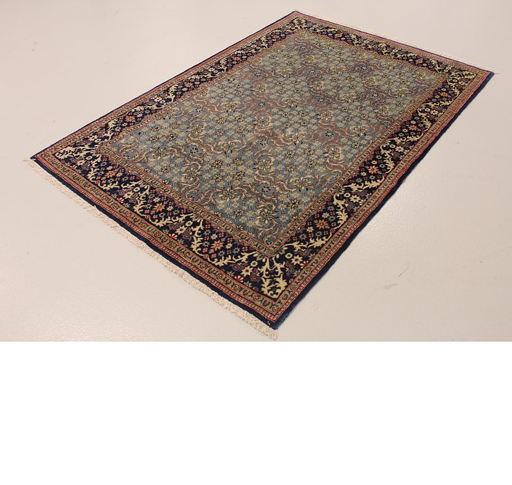 4' 7 x 6' 9 Qom Persian Rug
