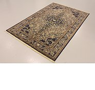 Link to 4' 7 x 7' 1 Qom Persian Rug