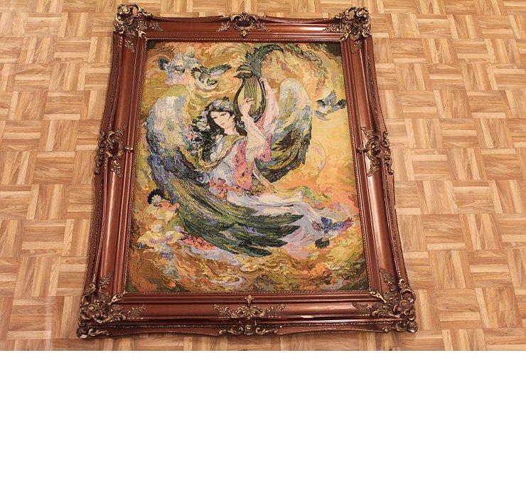 100cm x 135cm Tabriz Persian Rug