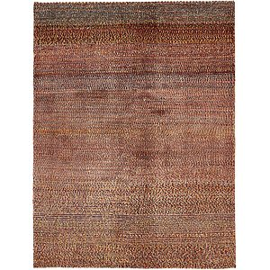 4' 9 x 6' 3 Shiraz-Gabbeh Persian Rug