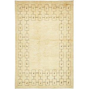 4' 7 x 7' Kashkuli Gabbeh Persia...