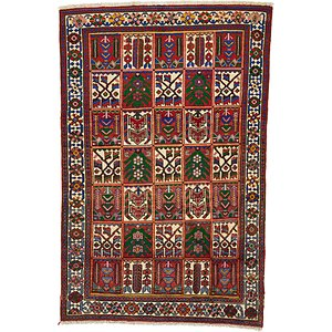 Unique Loom 3' 10 x 6' Bakhtiar Persian Rug
