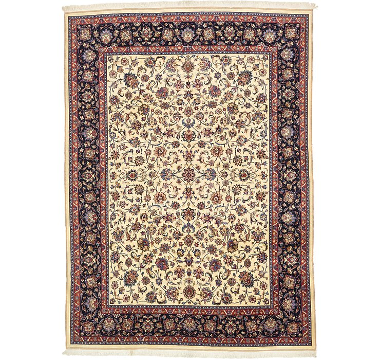 HandKnotted 9' 9 x 13' 5 Mashad Persian Rug