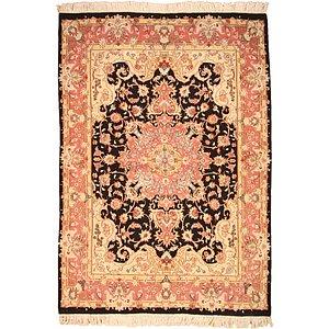 Unique Loom 5' 1 x 7' 2 Tabriz Persian Rug