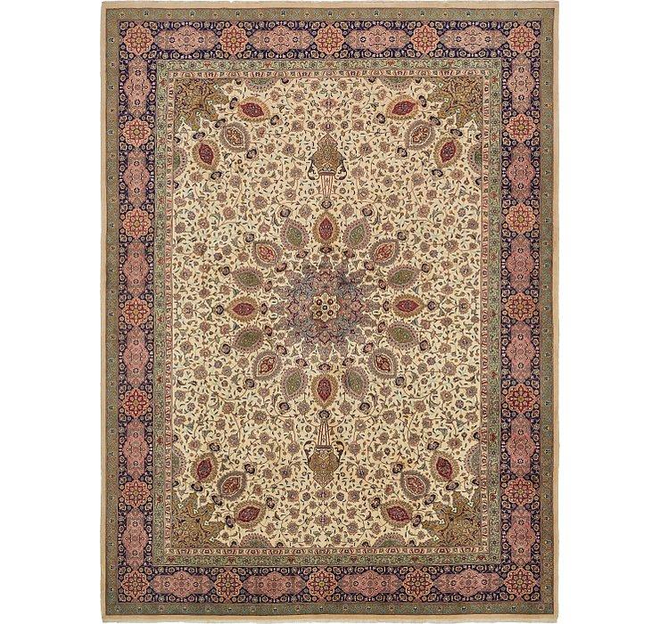 9' 10 x 13' 4 Tabriz Persian Rug