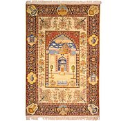 Link to 6' 3 x 9' 4 Tabriz Persian Rug
