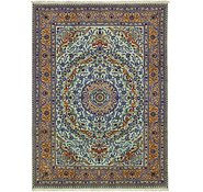 Link to 8' x 11' Kashmar Persian Rug