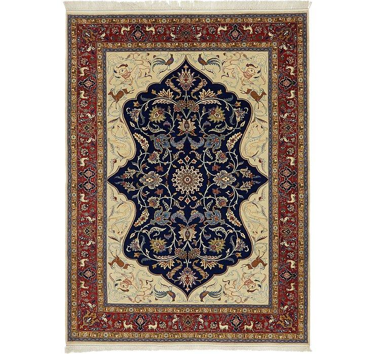 6' 10 x 9' 6 Kashan Persian Rug
