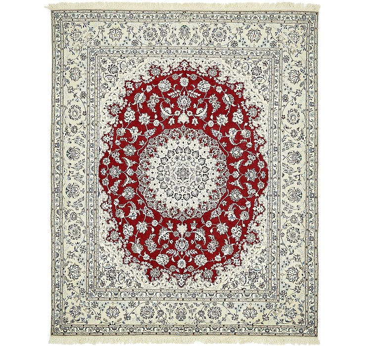 5' 9 x 7' Nain Persian Rug