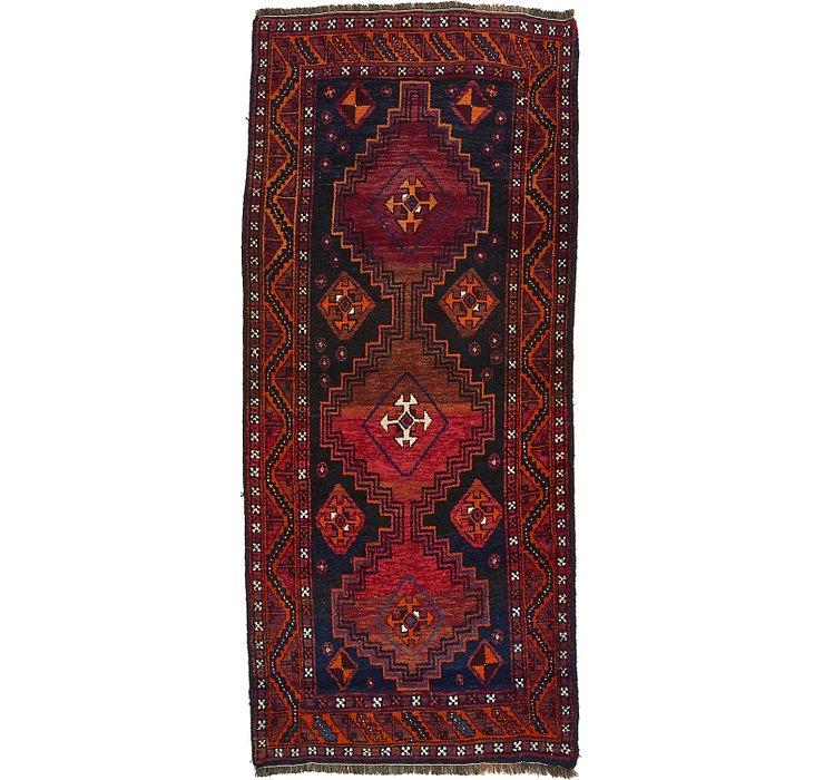 4' 3 x 9' 7 Ghashghaei Persian Runn...