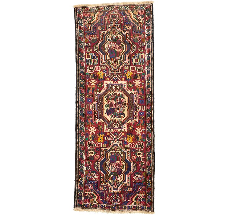 3' 10 x 9' 11 Bakhtiar Persian Runner...
