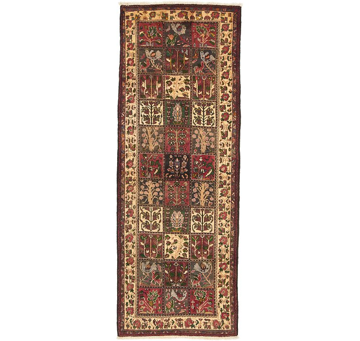 3' 9 x 10' Bakhtiar Persian Runner...