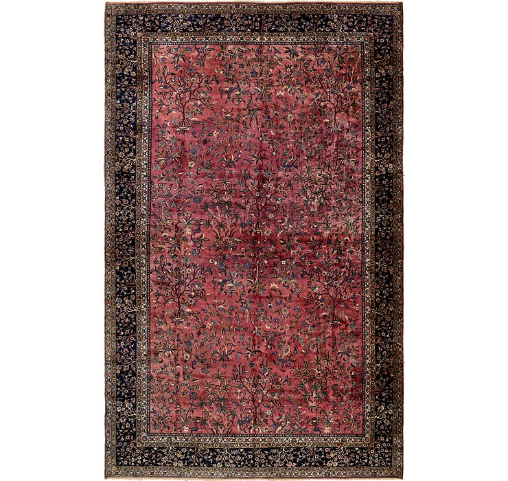 16' 7 x 26' 7 Sarough Persian Rug