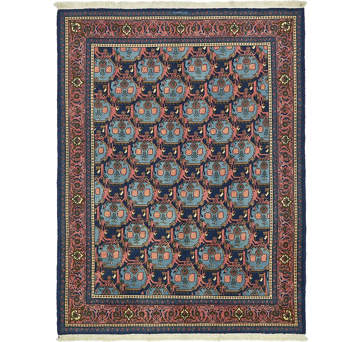 7' x 9' Yazd Persian Rug