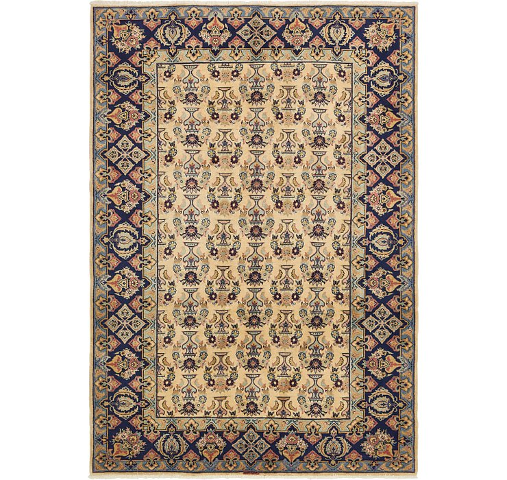 198cm x 287cm Yazd Persian Rug