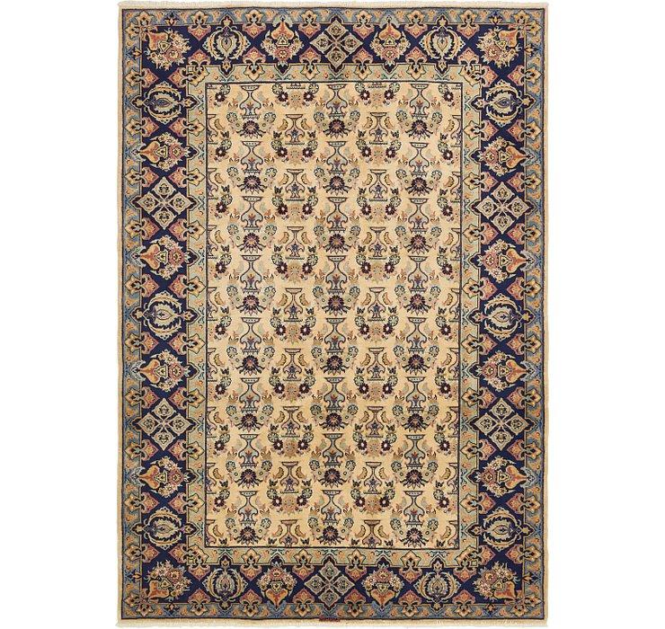 6' 6 x 9' 5 Yazd Persian Rug