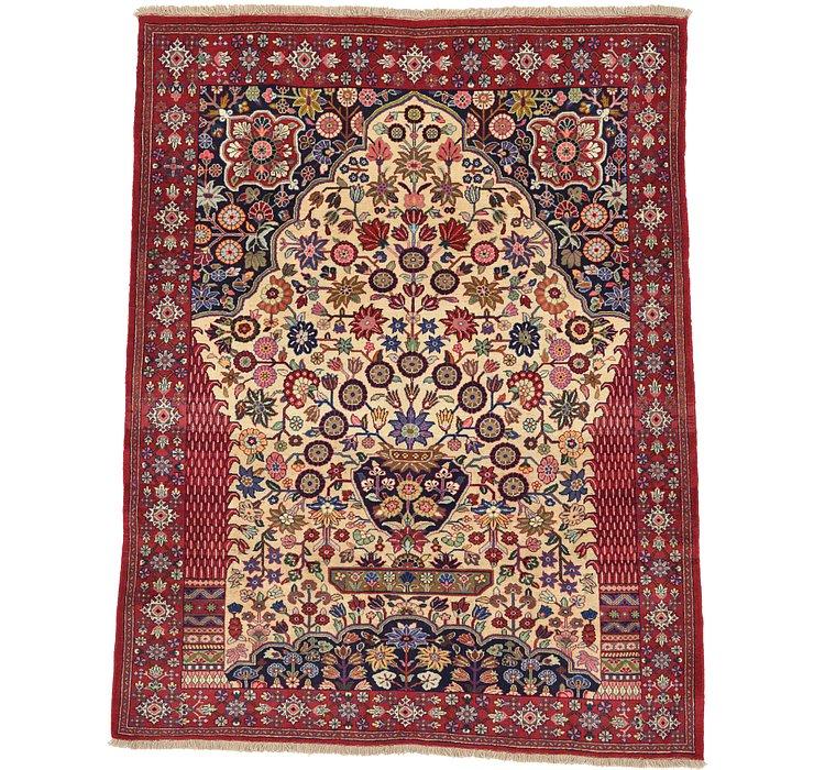 7' 1 x 9' Ghashghaei Persian Rug