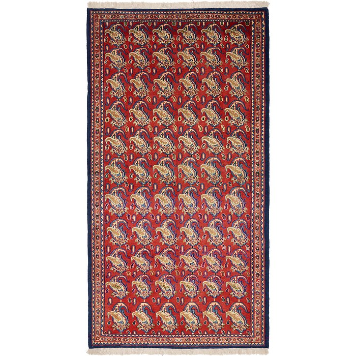 4' 9 x 9' Yazd Persian Rug