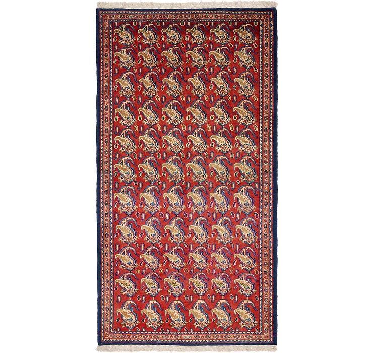 145cm x 275cm Yazd Persian Rug