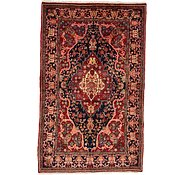 Link to 4' 4 x 7' Heriz Persian Rug