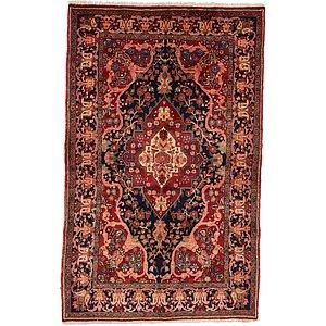 Unique Loom 4' 4 x 7' Heriz Persian Rug