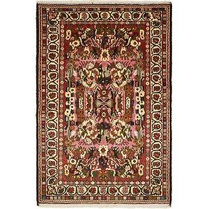 Unique Loom 4' 7 x 6' 10 Bakhtiar Persian Rug