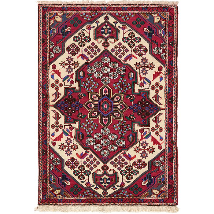 3' 4 x 4' 11 Saveh Persian Rug