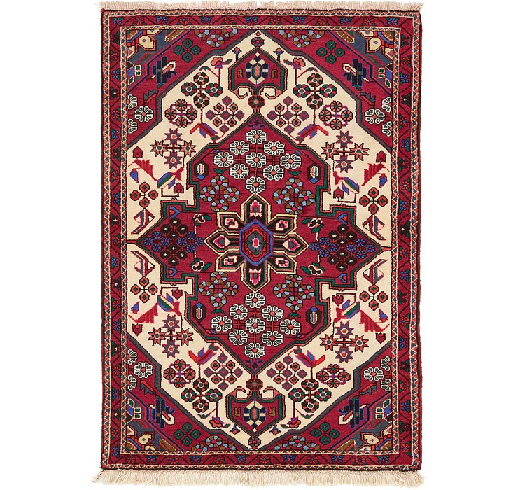3' 4 x 4' 11 Saveh Persian Rug