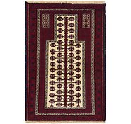 Link to 95cm x 137cm Balouch Persian Rug