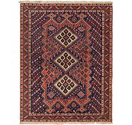 Link to 4' 8 x 6' 2 Shiraz Persian Rug