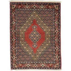 Unique Loom 4' x 5' 5 Bidjar Persian Rug