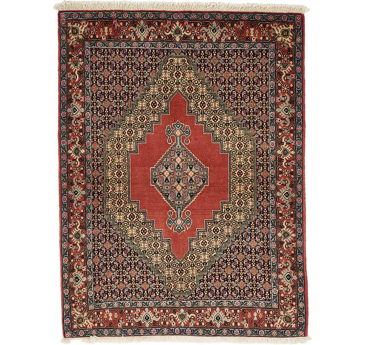 HandKnotted 4' x 5' 5 Bidjar Persian Rug