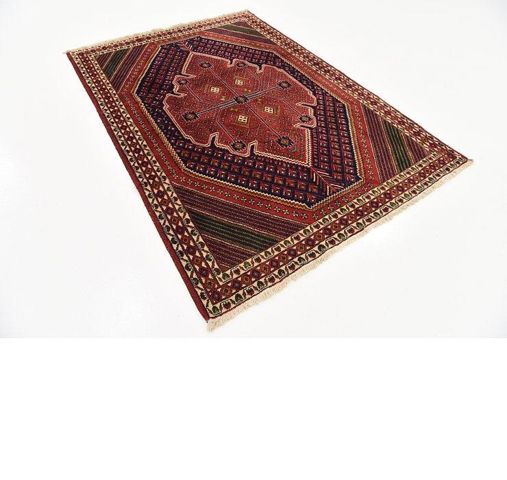 4' 4 x 6' 2 Shahrbaft Persian Rug