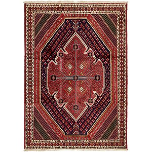 Unique Loom 4' 5 x 6' 6 Bakhtiar Persian Rug