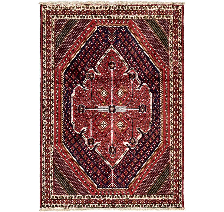 4' 5 x 6' 6 Bakhtiar Persian Rug